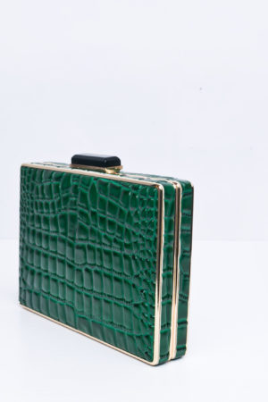 CROCO CASE CLUTCH