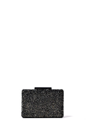 CALX RHINE STONE MINI CASE CLUTCH