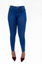 DENIM SUPER SKINNY JEANS - DARK BLUE