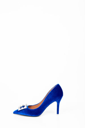 WAGCHIC BUCKLE COURT SHOE - COBALT