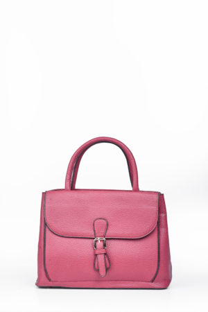 FLAP BUCKLE BAG – WINE