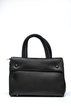 ENVELOPE BOX BAG - BLACK