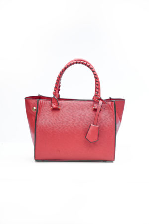 MINI BAG WITH SIDE BUTTONS - RED