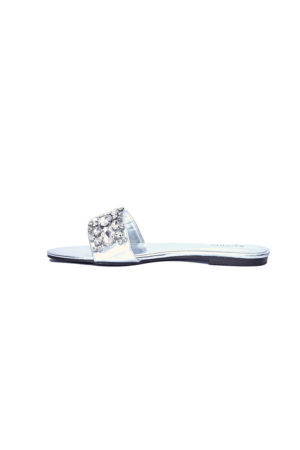 WAGCHIC DEBBY SLIPPERS - SILVER