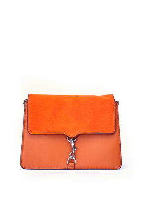 KEYHOLDER MINI CLIP BAG - ORANGE