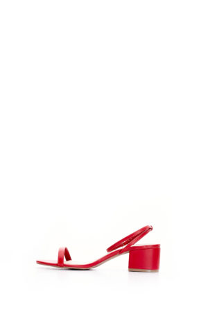 (2 FOR 15K) JADEN BLOCK HEEL SANDALS - RED