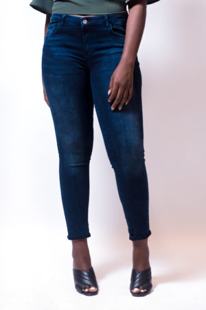 KOTON KATE DARK ACID WASH JEANS