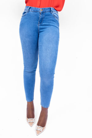 DENIM SUPER SKINNY JEANS - LIGHT WASH