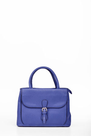 FLAP BUCKLE BAG - NAVY