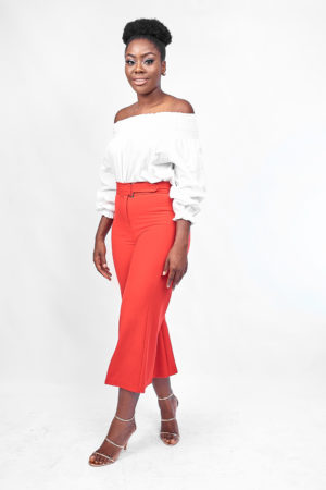 HIGH WAIST CULOTTES - RED