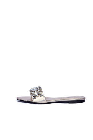WAGCHIC DEBBY SLIPPERS - GOLD