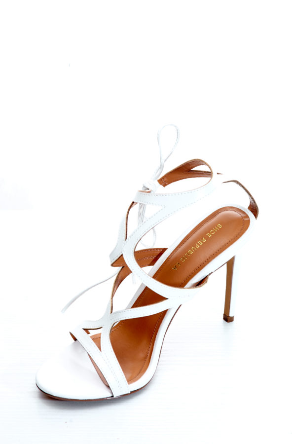 02acf3ada45 2 FOR 17K)MULTISTRAP ANKLE TIE SANDALS - WHITE