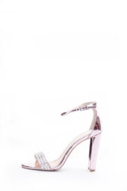 (2 FOR 17K)EMBELLISHED BAND SANDALS - ROSE PINK