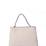ONE HANDLE MEDIUM TOTE BAG - GREY