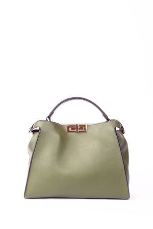 GRAB HANDLE TWISTLOCK TOTE - KHAKI
