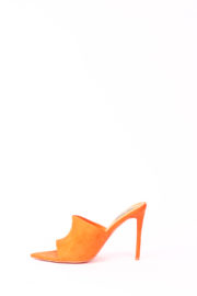 (30% OFF) CECE POINTED MULES - ORANGE