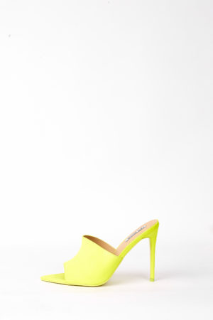 (30% OFF) CECE POINTED MULES - LIME