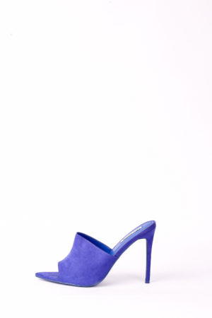 (30% OFF) CECE POINTED MULES - ROYAL BLUE