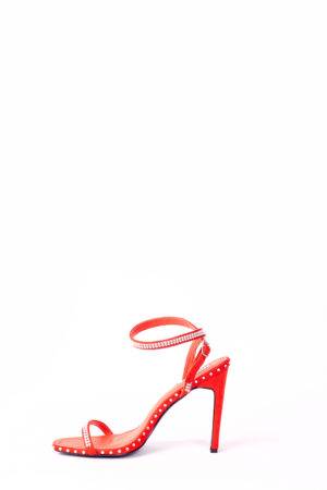 (30% OFF) HOLLYWOOD STONED SANDALS - RED