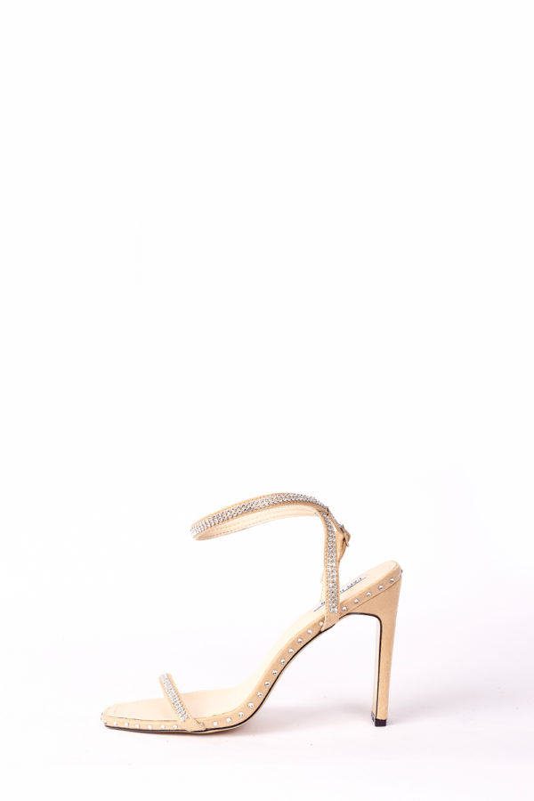 (30% OFF) HOLLYWOOD STONED SANDALS - NUDE