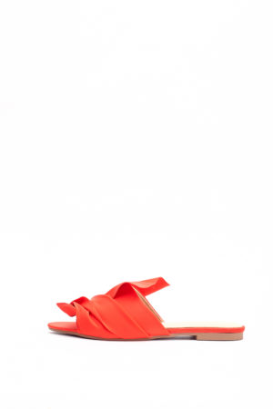 (2 FOR 17K) WAGCHIC RUFFLE SLIPPERS - RED