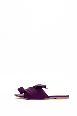 (2 FOR 17K) WAGCHIC RUFFLE SLIPPERS - PURPLE