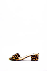 (30% OFF) KATZ ONE BAND SLIPPERS - LEOPARD