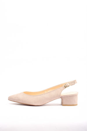 (30% OFF) SWING-18 SLINGBACK PUMPS - NUDE