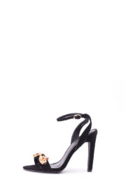 (30% OFF) INES EMBELLISHED SANDAL - BLACK