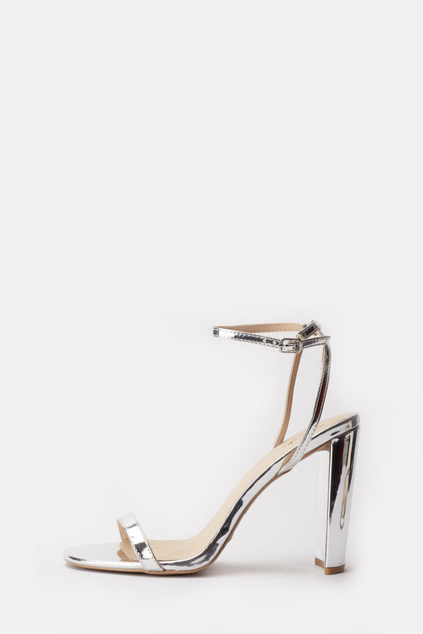 (2 FOR 17K) ELSI-15 SILVER STRAPPY SANDALS