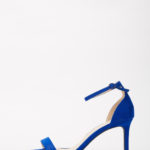 BACKFIRE MIDI HEEL SANDALS - COBALT