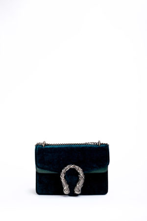 VELVET MERMAID MINI BAG - TEAL