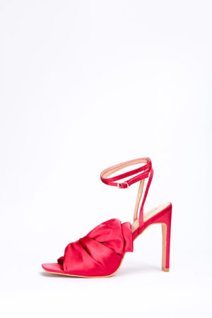 (2 FOR 17K)WAGCHIC RUFFLE SANDALS - FUCHSIA